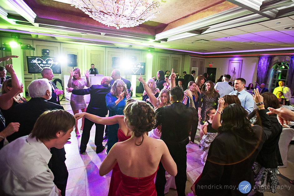 lighting wedding reception villa borghese hendrick moy
