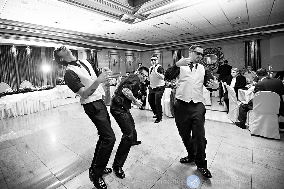 garter fight scene wedding pictures villa borghese