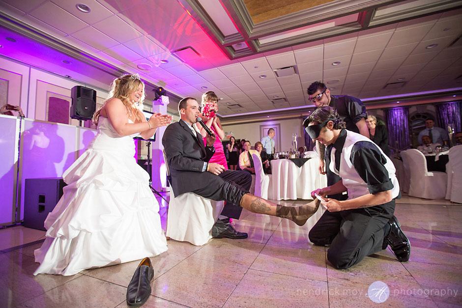 garter prank picture wedding hendrick moy