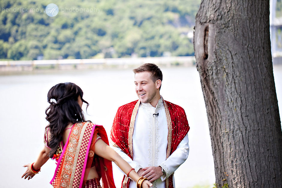 poughkeepsie grandview indian wedding ceremony hendrick moy photography