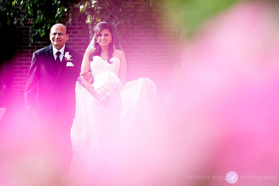 outdoor wedding ceremony at the poughkeepsie grandview  hudson valley ny hendrick moy photography
