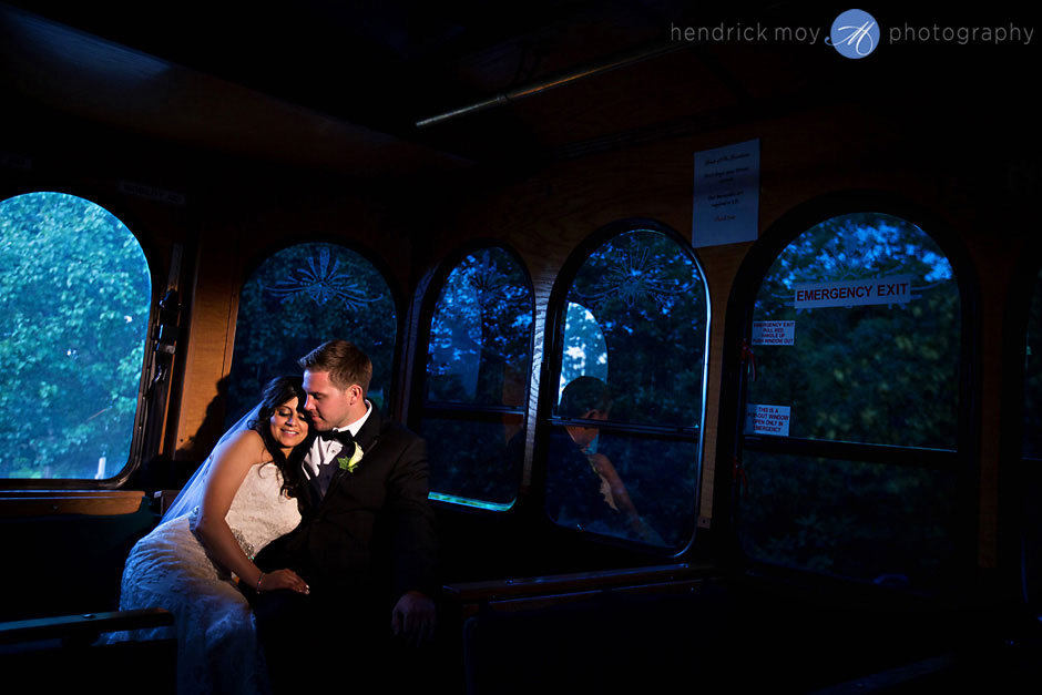 poughkeepsie grandview wedding photography tram car