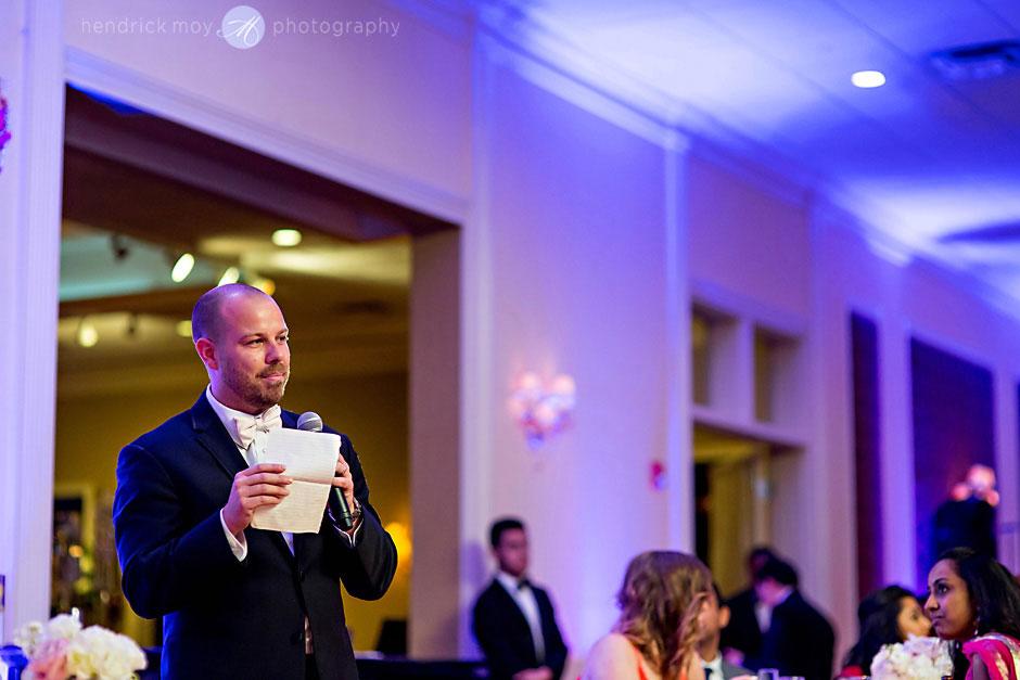 best man wedding reception ny hendrick moy