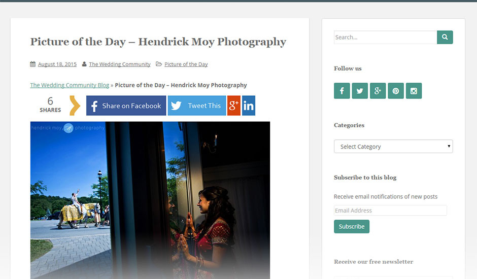 featured indian wedding photographer in ny baraat