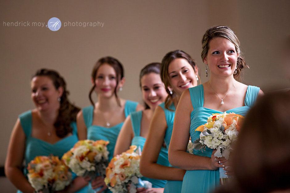 bridesmaids church wedding photographer hendrick moy