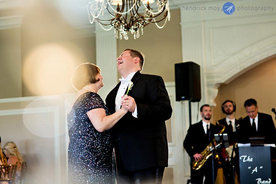 photo wedding reception at the falkirk estate