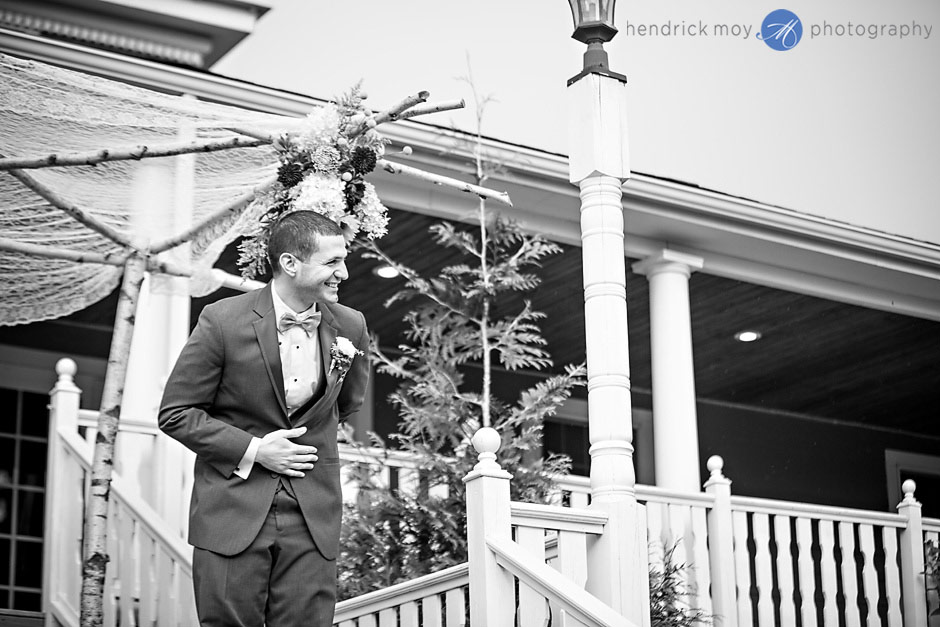 mountain view manor wedding ceremony groom