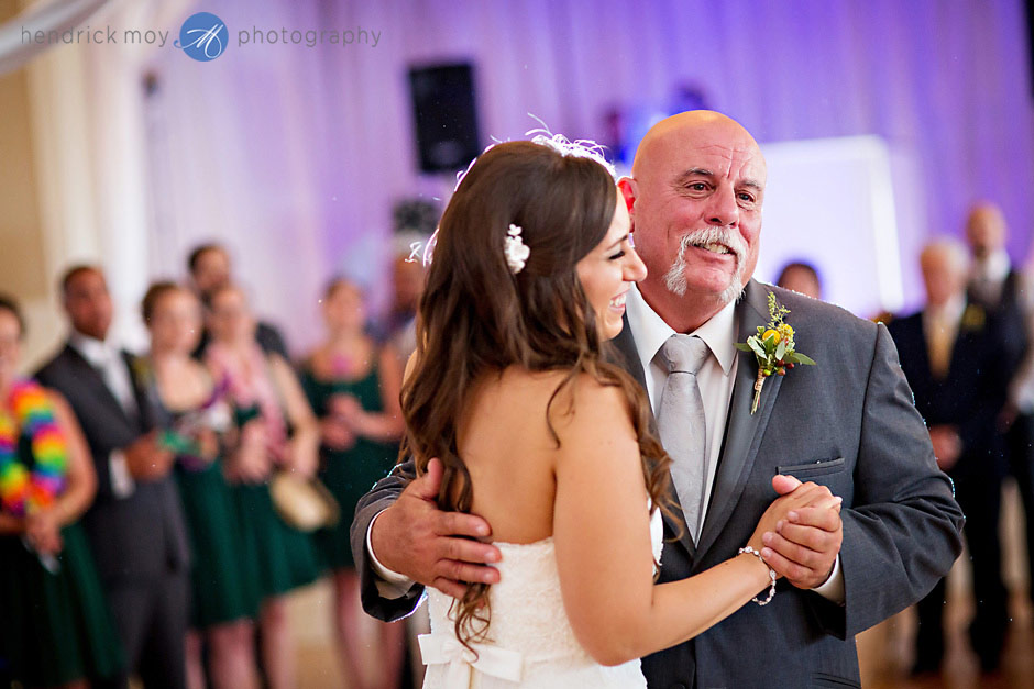 mountain view manor wedding father daughter dance