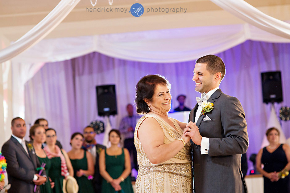 mountain view manor wedding mother son dance