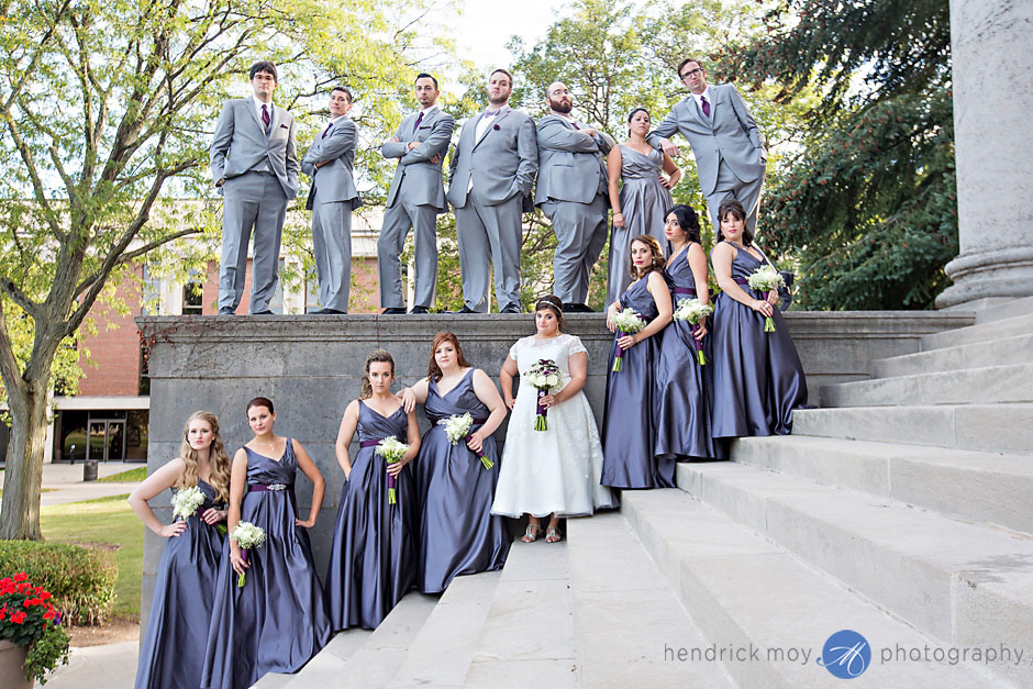 wedding party pictures syracuse ny photography hendrick moy