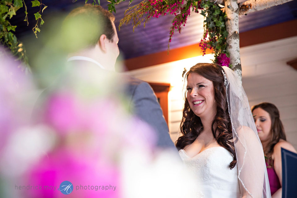 indoor wedding ceremony feast round hill washingtonville ny
