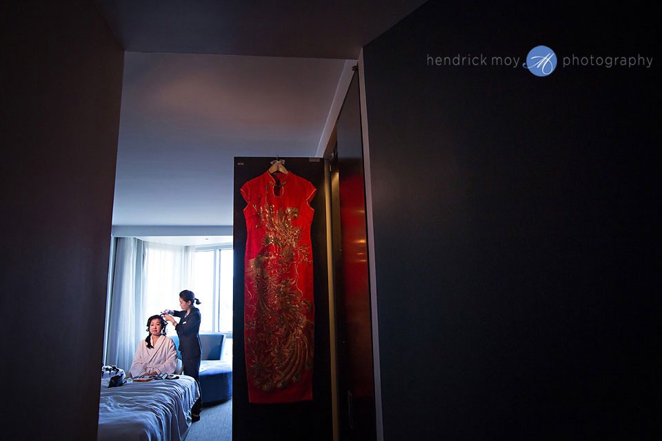 chinese wedding dress cheongsam qipao photographer nj w hotel hoboken