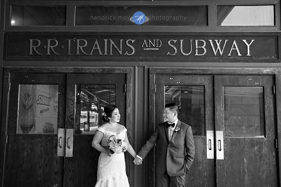 hoboken train station nj wedding photography hendrick moy