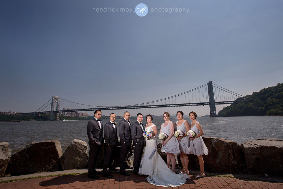 ross dock picnic area wedding photography nj george washington bridge