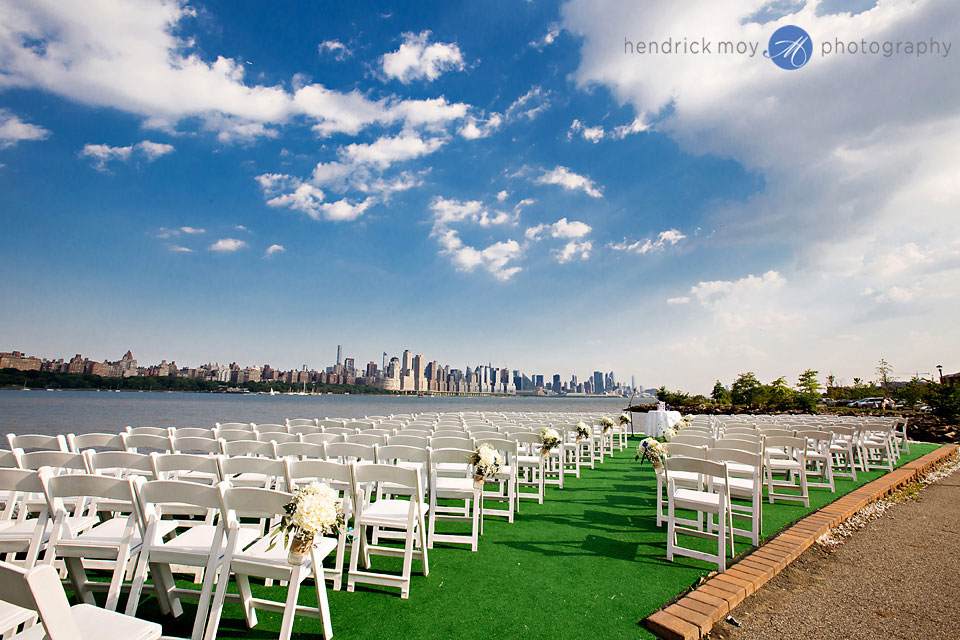 waterside restaurant catering north bergen nj outdoor wedding ceremony nyc skyline