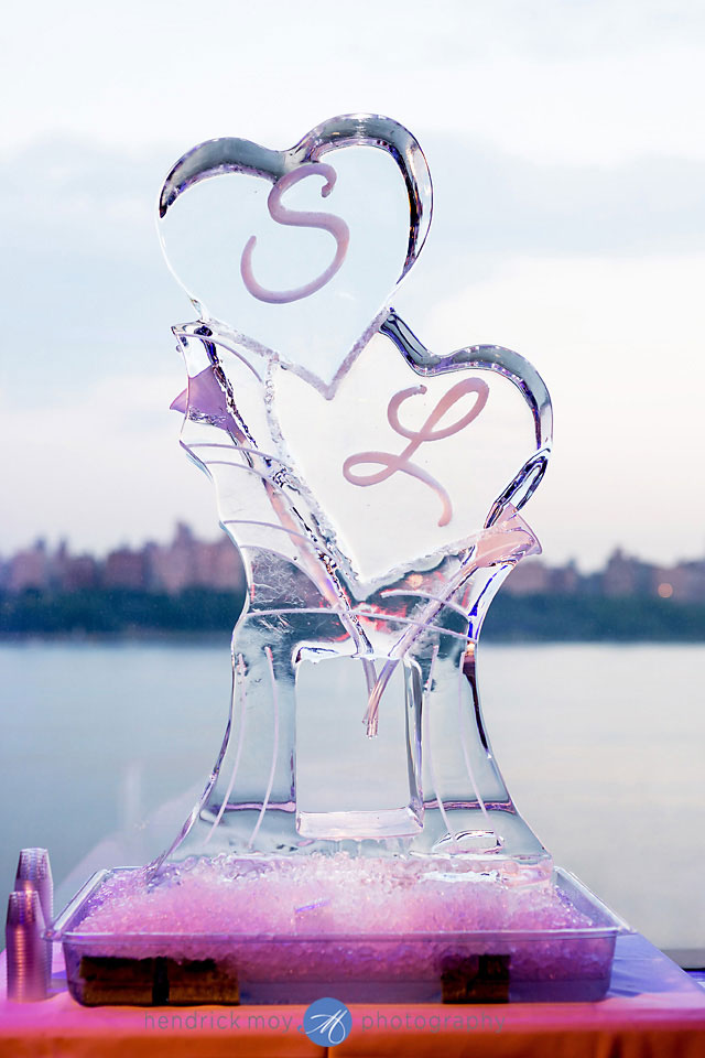 wedding photography ice sculpture waterside catering nj