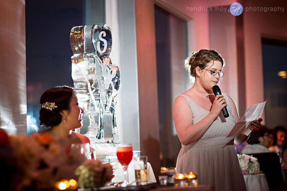 maid of honor speech wedding photography waterside catering nj