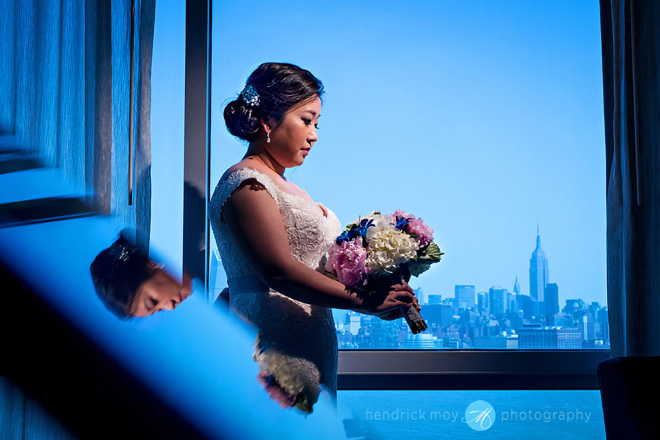 w hotel hoboken wedding photography empire state building hendrick moy photography