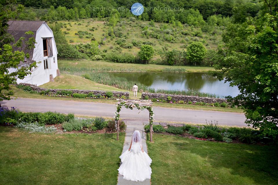 inn at west settlement first look wedding photography