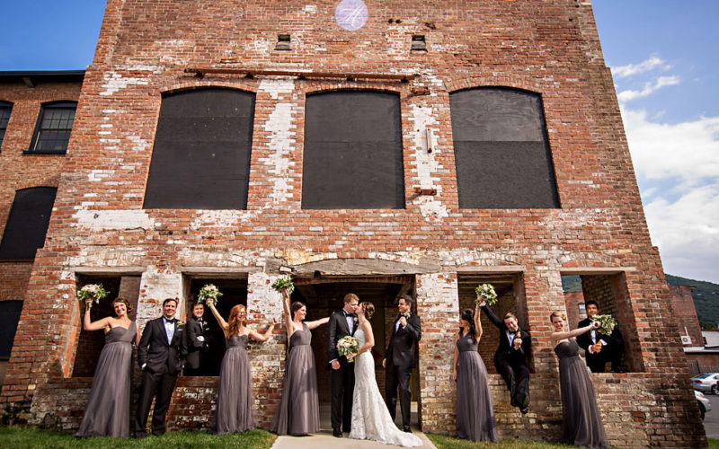 modern wedding photographer beacon ny roundhouse