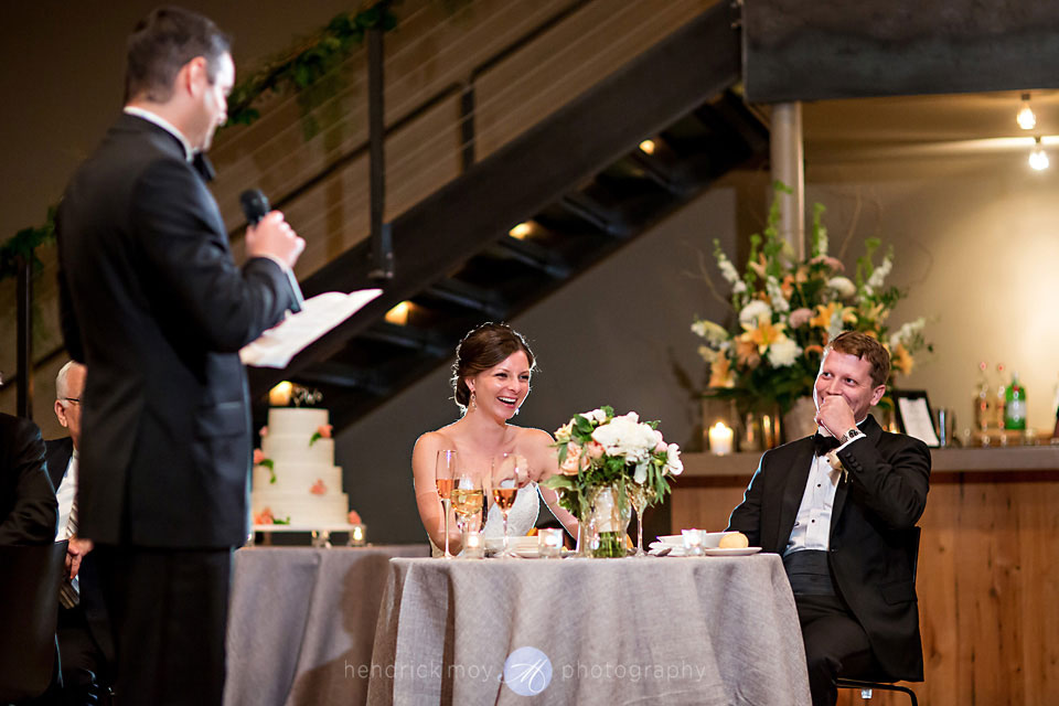 wedding photographer beacon ny roundhouse speech reception lighting