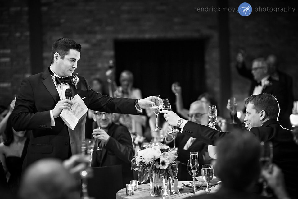 wedding photographer beacon ny roundhouse best man toast