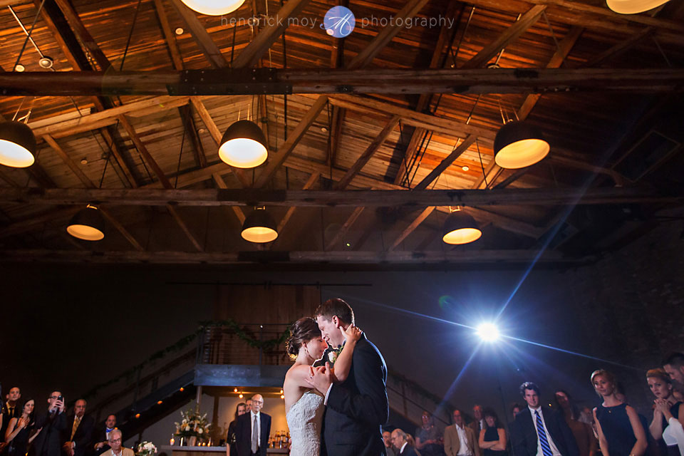 wedding photographer beacon ny roundhouse first dance lighting ocf