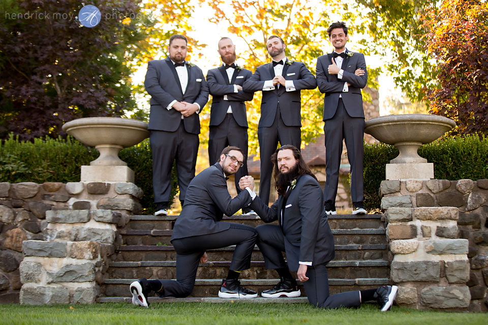 groomsmen wedding pictures paramount country club westchester ny photographer