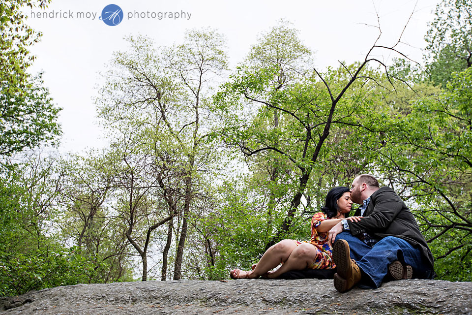 central park engagement session nyc