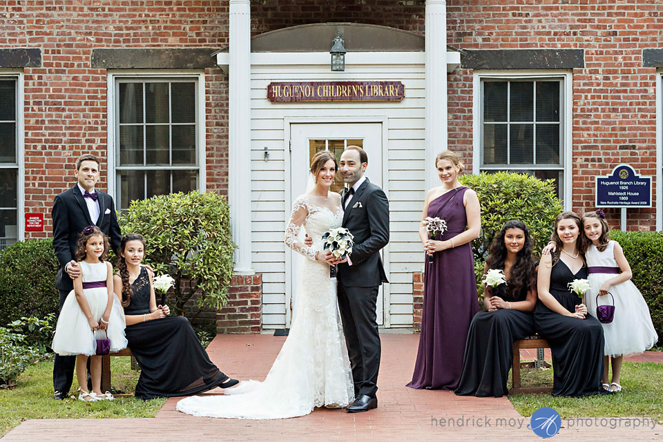 huguenot children's library wedding
