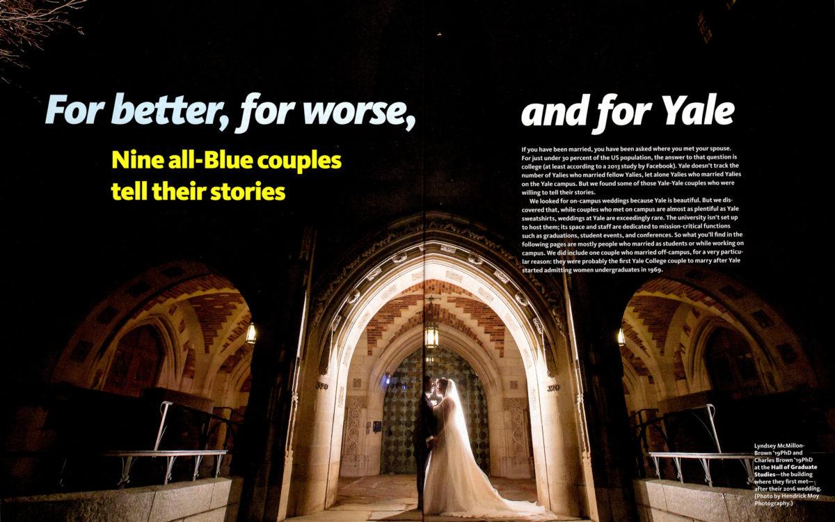 yale alumni wedding photography spread large